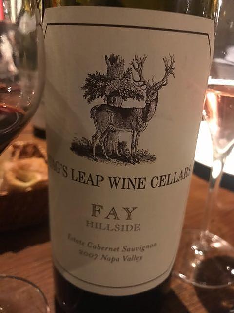 Stag's Leap Wine Cellars Fay Hillside Cabernet Sauvignon