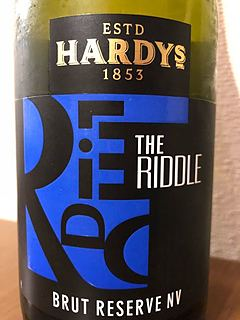 Hardys The Riddle Brut Reserve NV(ハーディーズ ザ・リドル ブリュット リザーヴ)