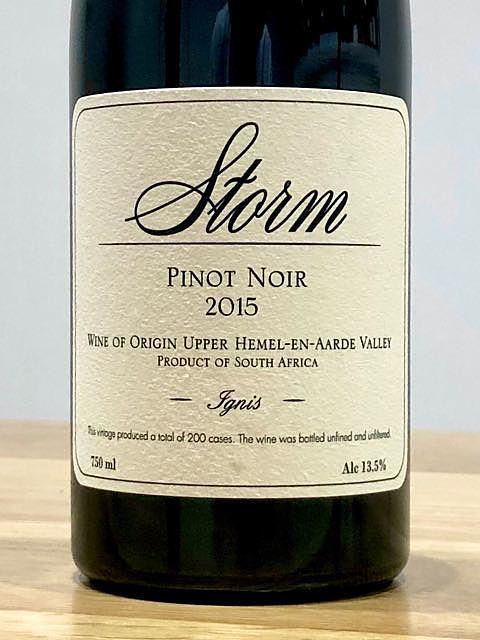 Storm Ignis Pinot Noir