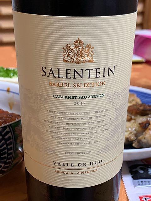 Salentein Barrel Selection Cabernet Sauvignon(サレンタイン バレル・セレクション カベルネ・ソーヴィニヨン)