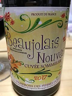 Vignerons des Pierres Dorées Beaujolais Nouveau Cuvée Sommelier