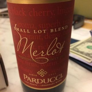 Parducci Small Lot Merlot