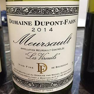 Dom. Dupont Fahn Meursault Les Vireuils(ドメーヌ・デュポン・ファン ムルソー レ・ヴィルウイユ)