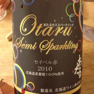 北海道ワイン Otaru Semi Sparkling