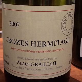 Dom. Alain Graillot Crozes Hermitage Rouge