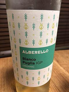 Alberello Bianco Puglia Organic(アルベレッロ ビアンコ プーリア オーガニック)