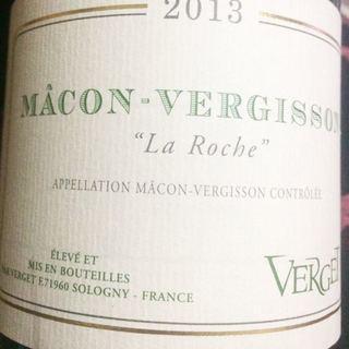 Verget Mâcon Vergisson La Roche