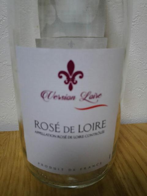 Version Loire Rosé de Loire(ヴァージョン・ロワール ロゼ・ド・ロワール)