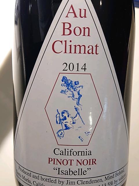 Au Bon Climat California Pinot Noir Isabelle