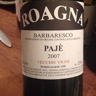 Roagna Barbaresco Pajé Vecchie Vigne