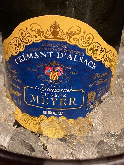 Dom. Eugène Meyer Crémant d'Alsace Brut(ドメーヌ・ユージェーヌ・メイエー クレマン・ダルザス ブリュット)