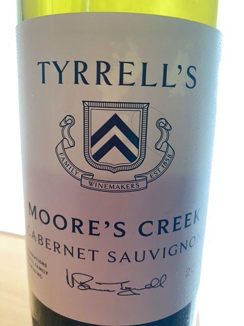Tyrrell's Wines Moore's Creek Cabernet Sauvignon(ティレルズ・ワインズ ムアーズ・クリーク カベルネ・ソーヴィニヨン)