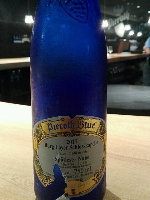 Pieroth Blue Burg Layer Schlos...