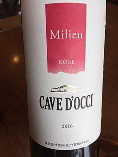 Cave d'Occi Milieu Rosé