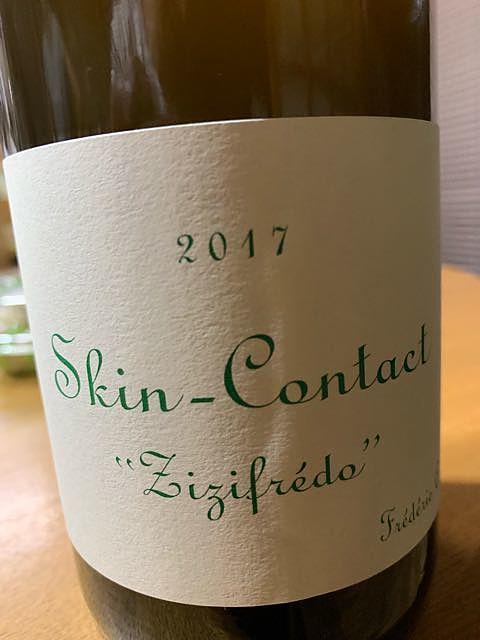 Frédéric Cossard Skin Contact Zizifrédo(フレデリック・コサール スキン・コンタクト ズィズィフレッド)