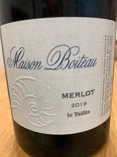 Maison Boiteau Merlot Le Taillis(メゾン・ボワトー メルロー ル・タイイ)