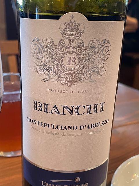 Umani Ronchi Bianchi Montepulciano d'Abruzzo(ウマニ・ロンキ ビアンキ モンテプルチャーノ・ダブルッツォ)