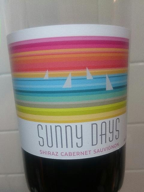 Sunny Days Shiraz Cabernet Sauvignon(サニー・デイズ シラーズ カベルネ・ソーヴィニヨン)