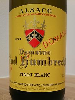 Dom. Zind Humbrecht Pinot Blanc