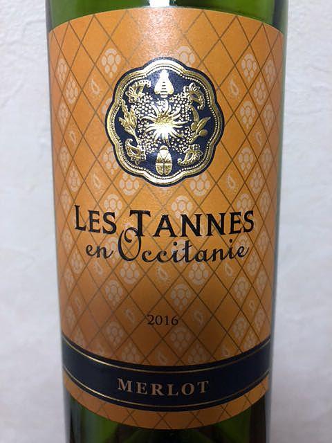 Les Tannes En Occitanie Merlot(レ・タンヌ オクシタン メルロー)