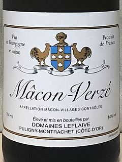 Dom. Leflaive Mâcon Verzé
