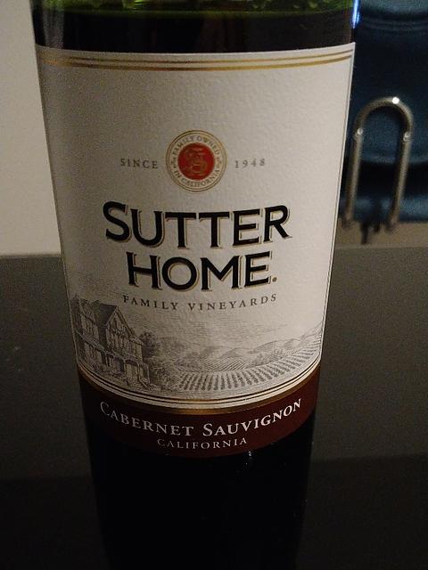 Sutter Home Cabernet Sauvignon(サター・ホーム カベルネ・ソーヴィニヨン)