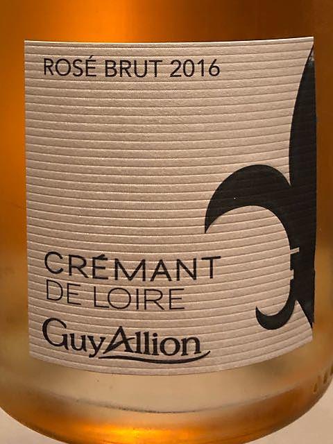 Guy Allion Crémant de Loire Rosé Brut