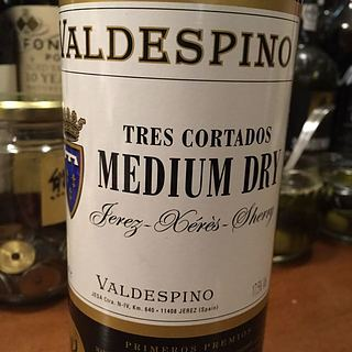 Valdespino Tres Cortados Medium Dry