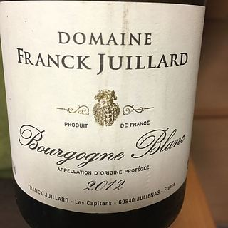 Dom. Franck Juillard Bourgogne Blanc(フランク・ジュイヤール ブルゴーニュ ブラン)