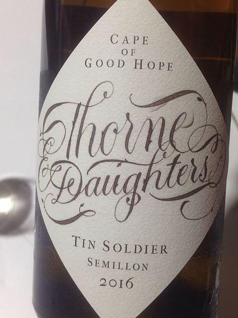 Thorne & Daughters Tin Soldier Semillon