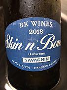 ビーケー・ワインズ スキン・アンド・ボーンズ ホワイト