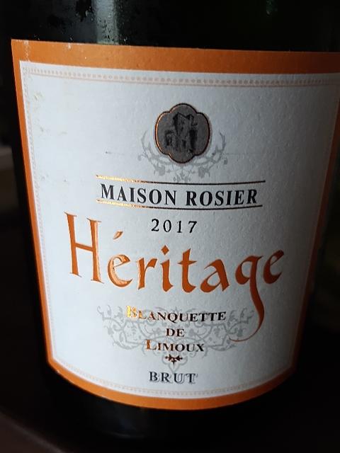 Maison Rosier Héritage Blanquette de Limoux Brut