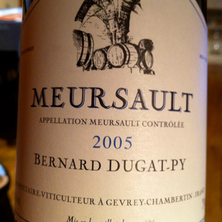 Bernard Dugat Py Meursault