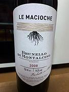 レ・マチョーケ ブルネッロ・ディ・モンタルチーノ(2008)