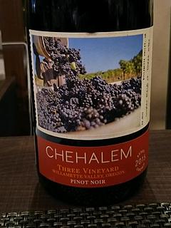 Chehalem Three Vineyard Pinot Noir(チュヘイラム スリー・ヴィンヤード ピノ・ノワール)