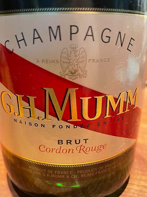 G.H.Mumm Cordon Rouge(G.H.マム コルドン・ルージュ)