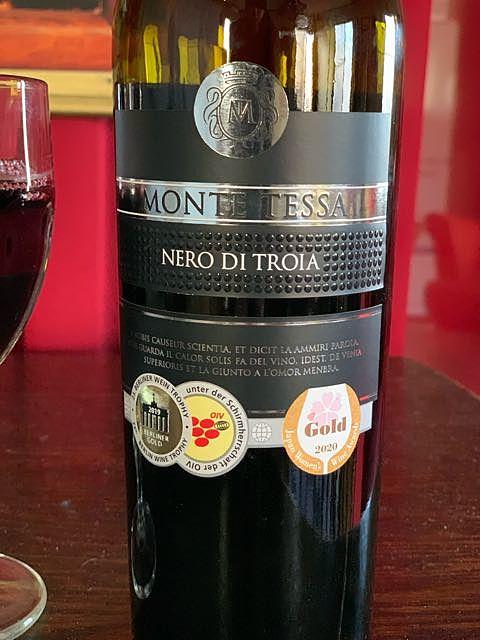 Monte Tessa Nero di Troia(モンテ・テェーザ ネロ・ディ・トロイア)