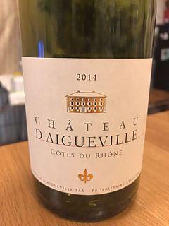 Ch. d'Aigueville Côtes du Rhône Blanc(シャトー・エグヴィル コートデュ・ローヌ ブラン)