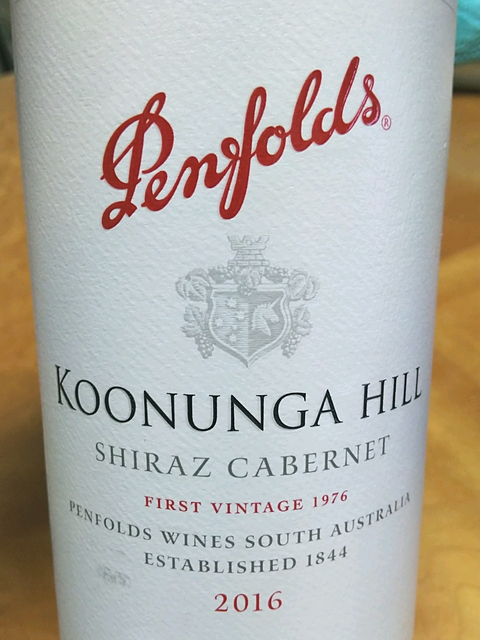 Penfolds Koonunga Hill Shiraz Cabernet