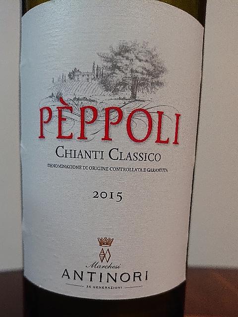 Antinori Pèppoli Chianti Classico