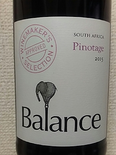 Balance Winemaker's Selection Pinotage