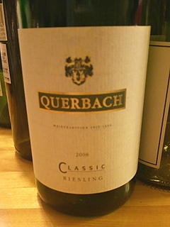 Querbach Classic Riesling(クヴェアバッハ クラック リースリング)