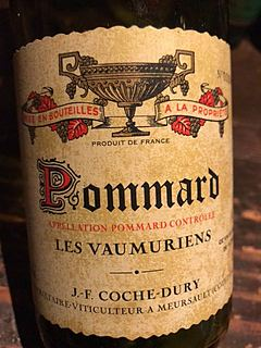 J.F. Coche Dury Pommard Les Vaumuriens