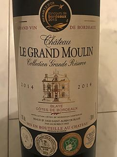 Ch. Le Grand Moulin Collection Grande Réserve