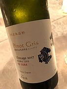 丹波ワイン 丹波鳥居野 Pinot Gris(2017)