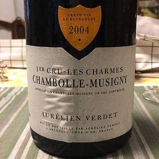 Aurélien Verdet Chambolle Musigny Les Charmes