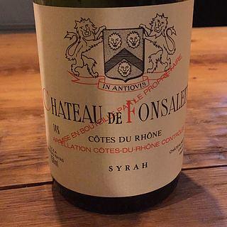 Ch. de Fonsalette Côtes du Rhône Cuvée Syrah