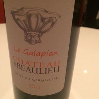 Ch. de Beaulieu Le Galapian