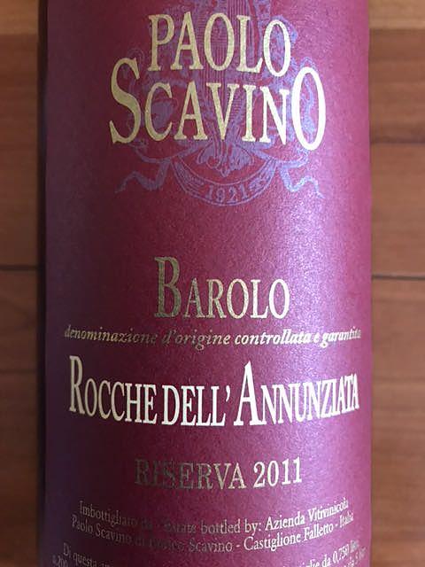 Paolo Scavino Barolo Rocche dell'Annunziata Riserva