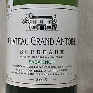 Ch. Grand Antoine Sauvignon